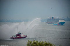 FireFighter II Water Salute