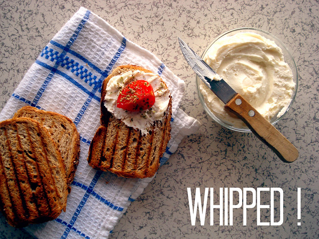 whipped Turkish cheese