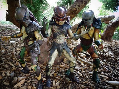 The Super Predators Strike A Pose