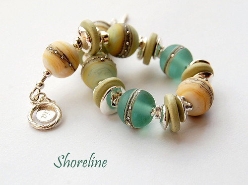 Shoreline Bracelet by gemwaithnia