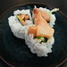 Spicy Hamachi Roll by Mike Saechang