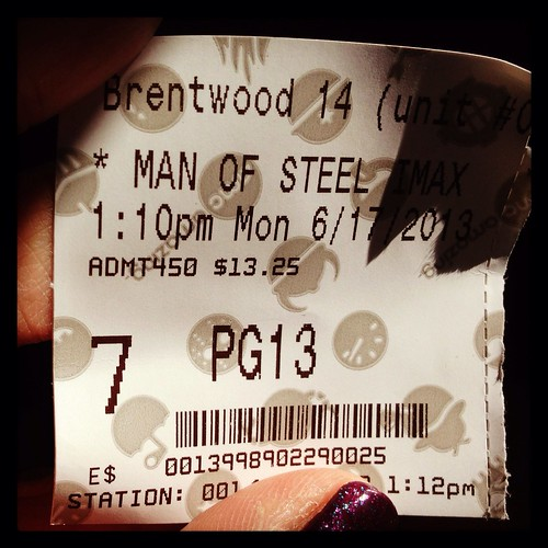 Ticket to Man of Steel