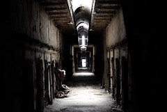 Cellblock 5 at Eastern State Penitentiary