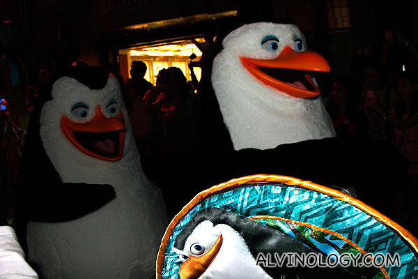 The penguins from Madagascar