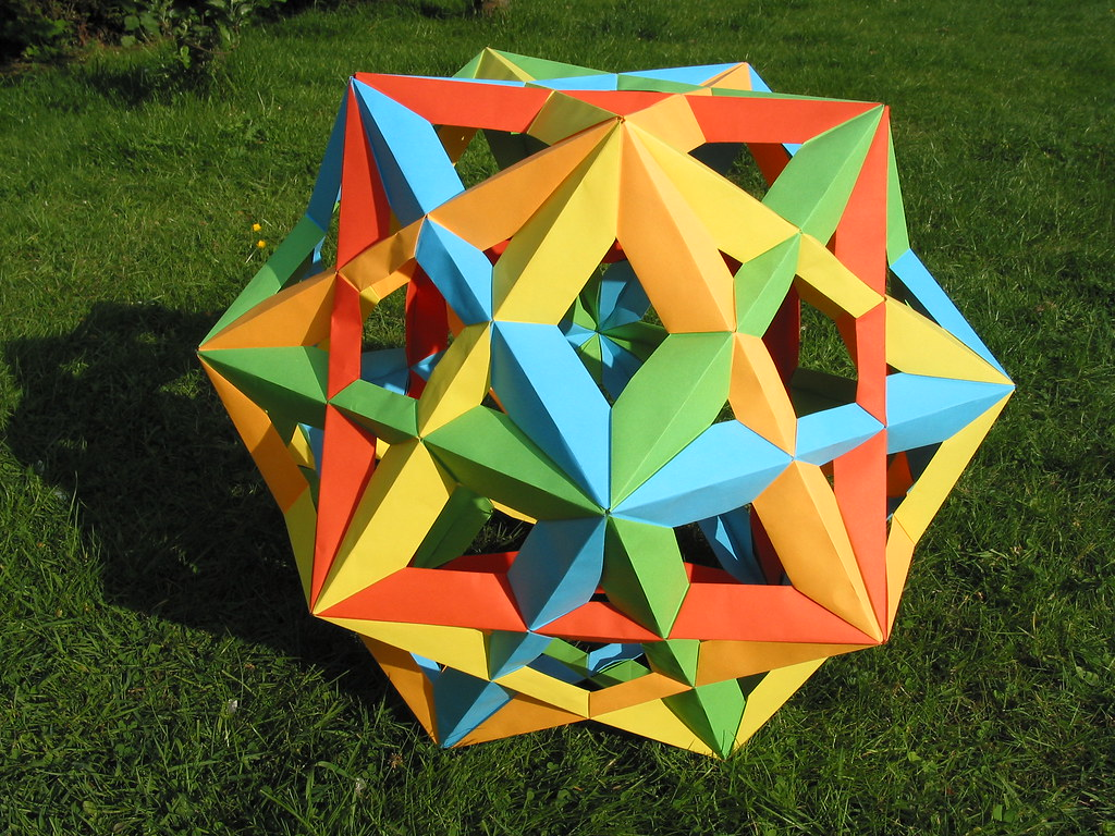 Origami from modules: history and features of art 25