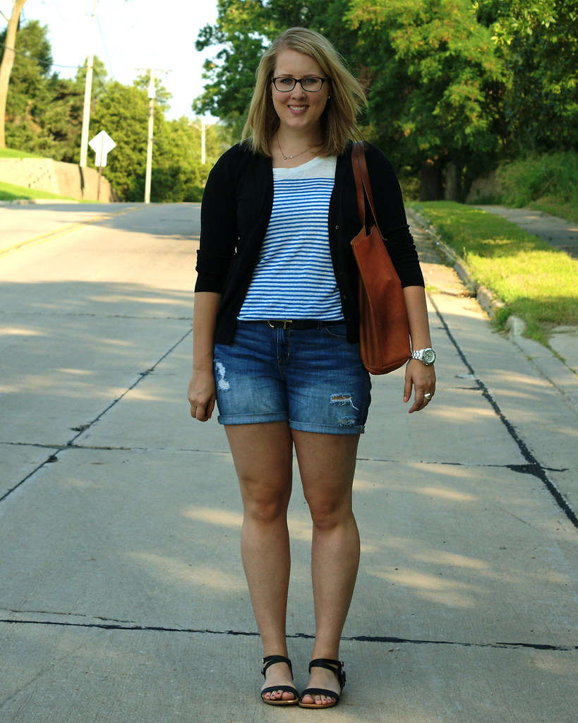 j crew linen engineered tee madewell transport tote, gap boyfriend shorts target elba wedges fossil watch madewell anchor belt, madewell best mate belt