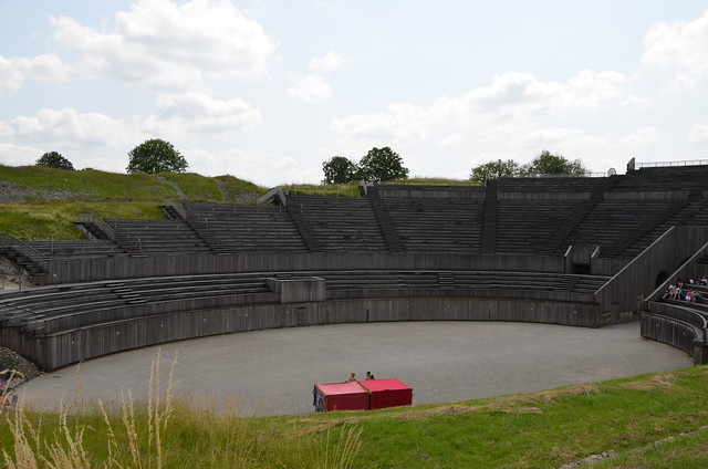 Les gladiateurs dans l'arène, Andesina (Grand)