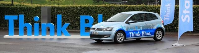 Think Blue. Volkswagen