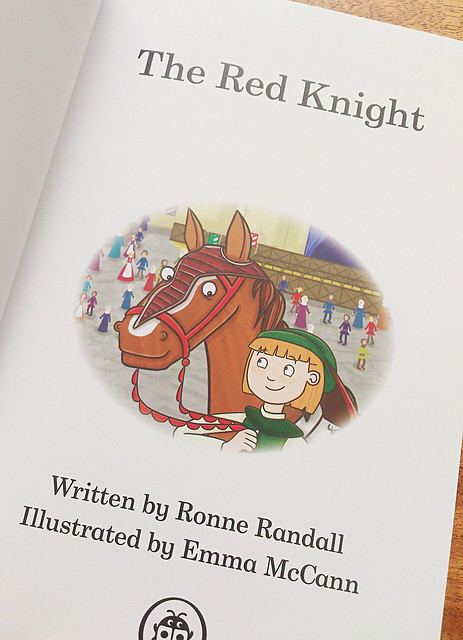 red knight title page