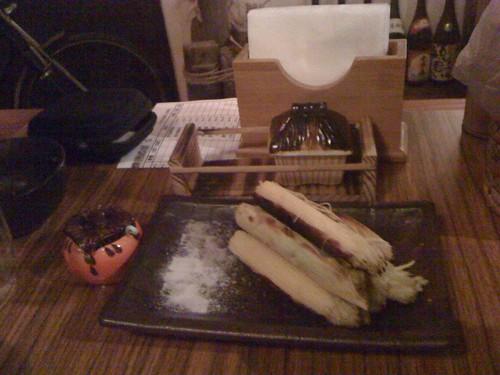 帶皮玉米筍 ($90)@台北大村武串燒居酒屋