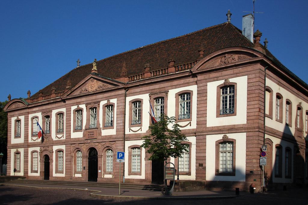Tribunal de grande instance - Достопримечательности Кольмара