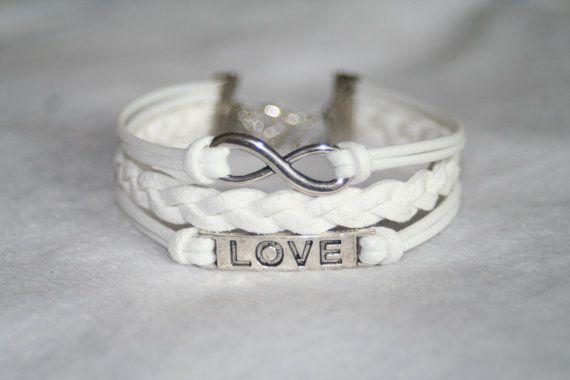 Infinity, Love, Karma Bracelet