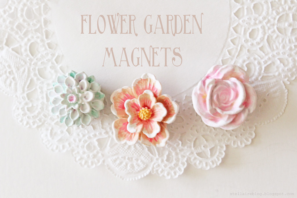 flower garden magnets 2