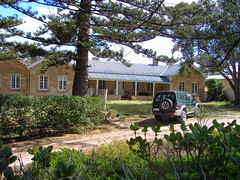Moorkyne house at Robe,South Australia . Built early 1850s for local Robe merchant Ormerod.