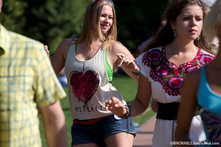 Фетиваль Latinafest 2013 в парке Красная пресня Фото: ©binorable.livejournal.com
