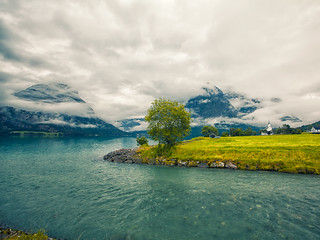 Norway: fjords, lakes and clouds #05 [EXPLORED]