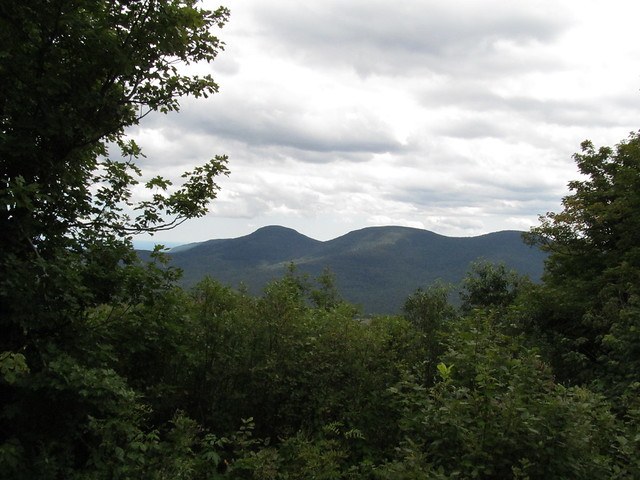 Blackhead Range from Windham High Peak