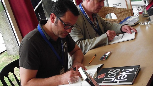 Edinburgh Book Festival 2013 - Rob Davis & Martin Rowson 05
