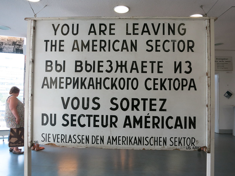 Checkpoint Charlie Museum.