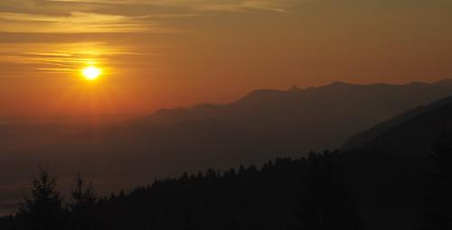 sunrise bayern bavaria oberbayern sonnenaufgang schwarzenberg fischbachau elbach hundham