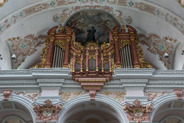 Organ, Jesuit Church, Lucerne