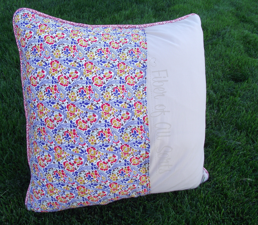 Liberty Pillow Challenge - Back