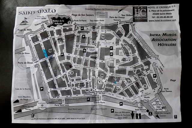 旧市街地図。