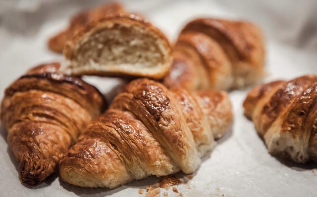 croissant sfogliati francesi la ricetta di Massari