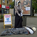 Small photo of Baildon Scarecrow Walk: Florence Nightingale