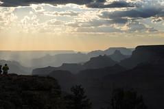 Grand Canyon misty