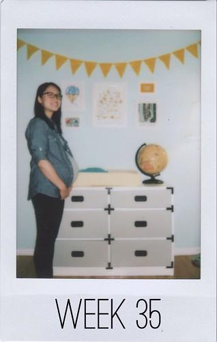 Baby Bump - Week 35