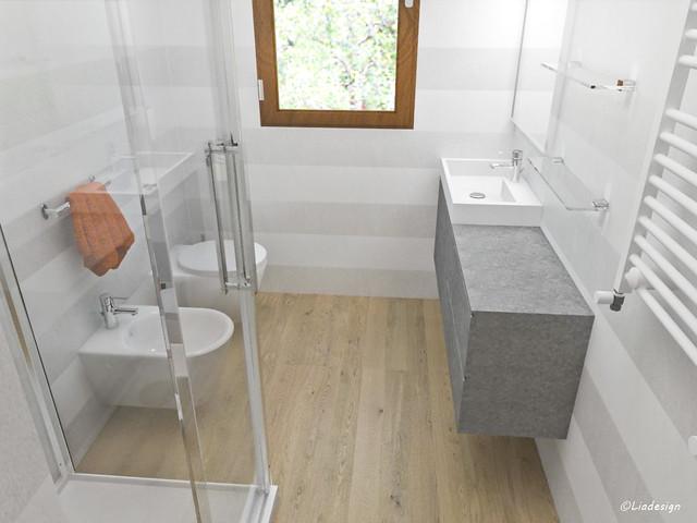 Forum arredamento.it • un bagno lungo e stretto? no, due! aiuto....