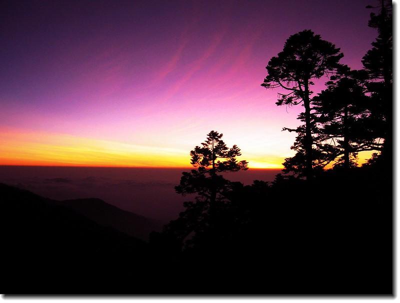 西峰觀日落 2