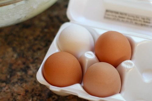 eggs, different hues