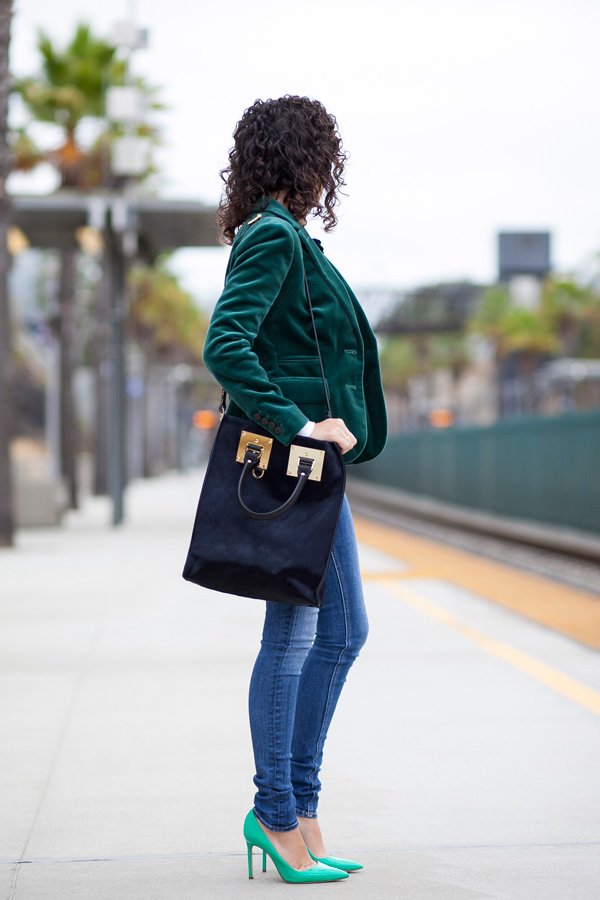 Wardrobe Textures & the Sophie Hulme Mini Tote