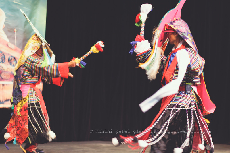 Blue Masked Dancers of Tibet