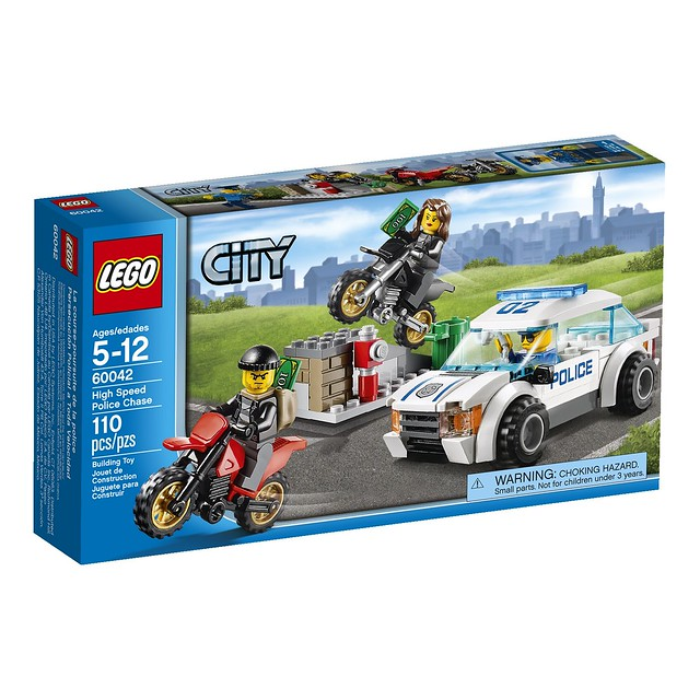 LEGO City 60042 - High Speed Police Chase