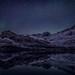 Night scene with subtle northern lights, Sisimiut by @ilovegreenland