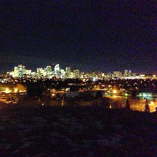 Late night Calgary