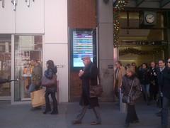 LIRR Exterior Board at Penn Station
