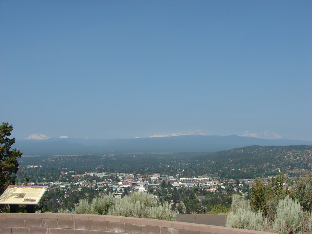 Mt. Bachelor, Tumalo Mt., Ball Butte, Broken Top, and the Three Sisters