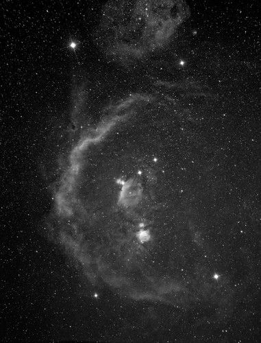 Barnard's Loop - Orion - Widefield view by Mick Hyde