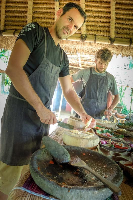 Koken met Philippe