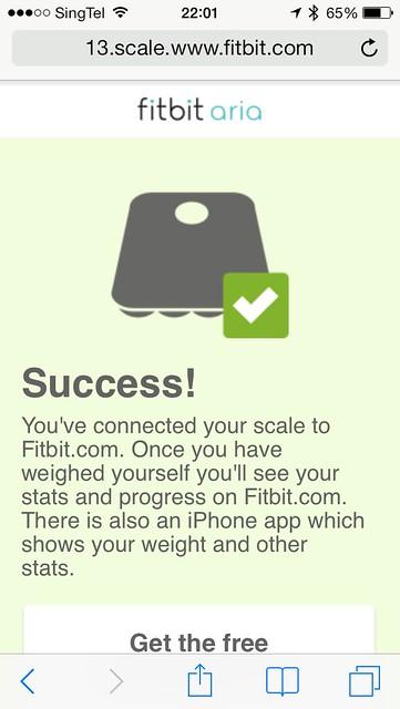 Fitbit Aria - Setup #6