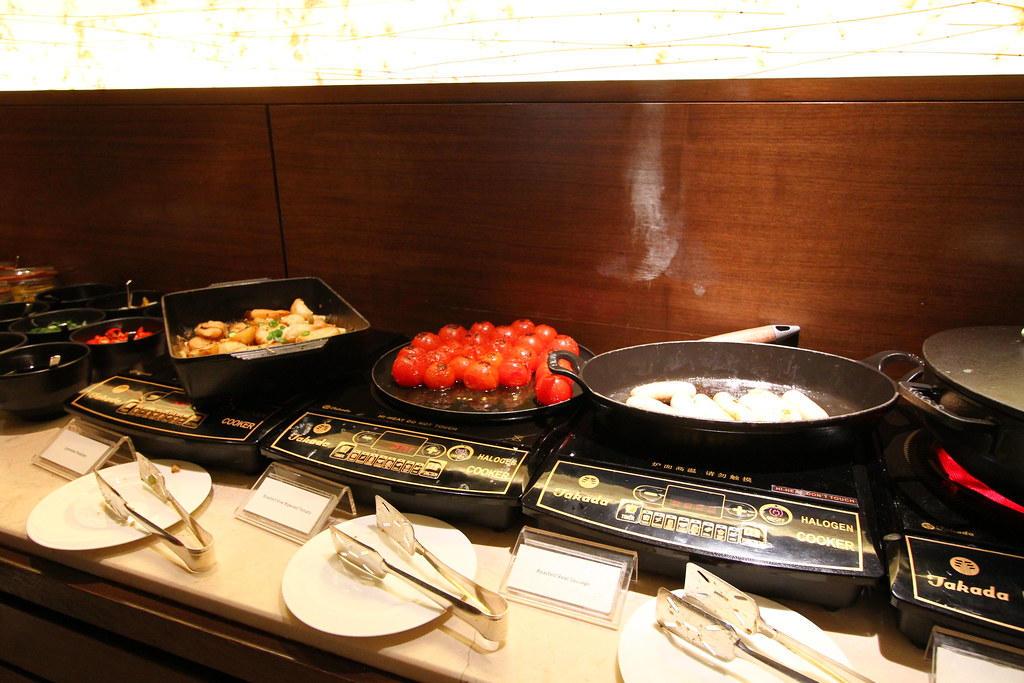 Grand Hyatt Singapore: Club Lounge Food