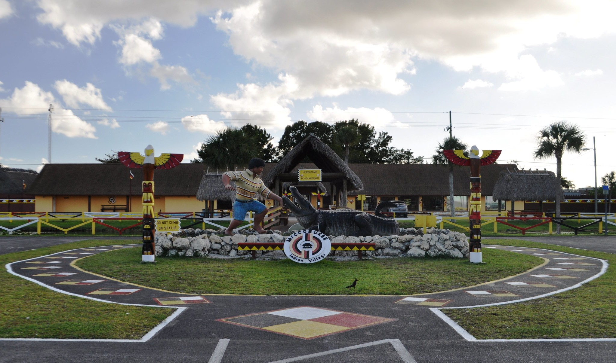 Miccosukee Indian Village in the Florida Everglades, Dec. 7, 2013