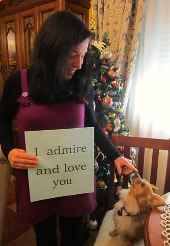I admire and love you - Almu by Sitio de Jane Austen