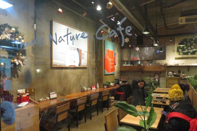 弘大有名的羊咩咩咖啡館