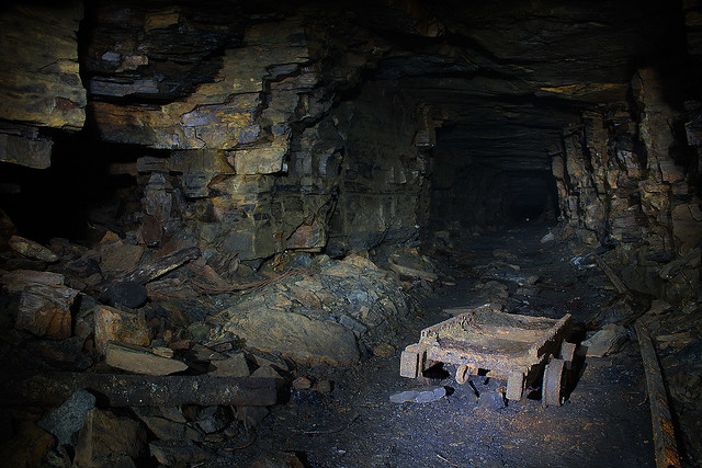 Old Coal Mine in Roscommon