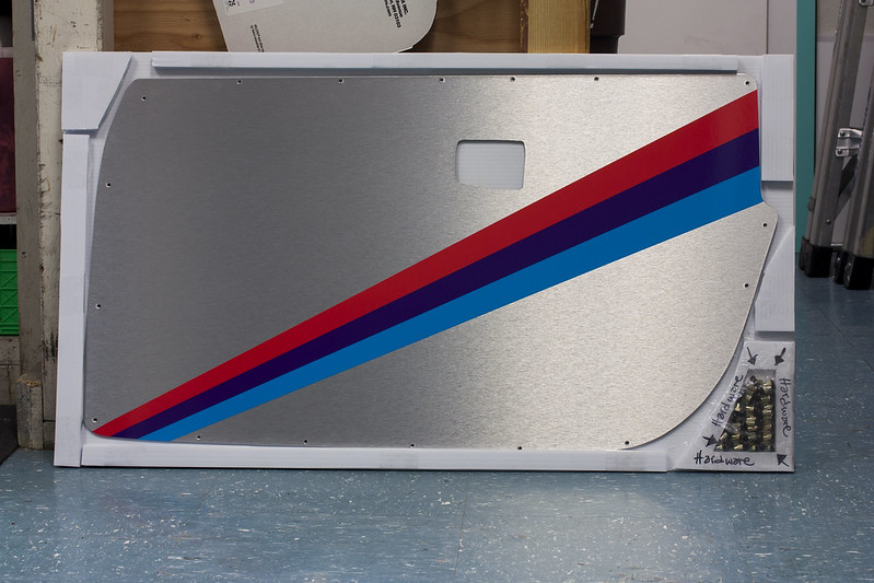 Feeler Custom E30 Amp E36 Door Panels Blanks Graphics